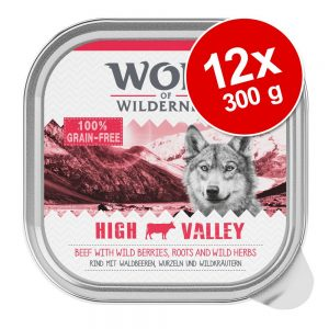 Wolf of Wilderness 12 x 300 g - Wild Hills - Duck