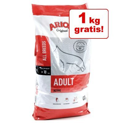 1 kg på köpet! Arion hundfoder till sparpris Adult Medium Breed Chicken & Rice 11 + 1 kg
