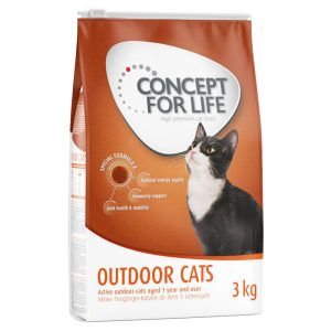 Concept for Life Outdoor Cats - Ekonomipack: 3 x 3 kg