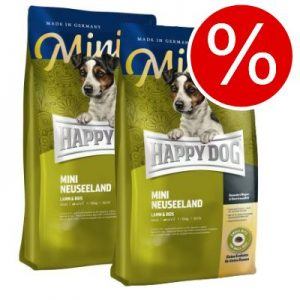 Ekonomipack: 2 x 4 kg Happy Dog Supreme mini till sparpris! - Mini Toscana (2 x 4 kg)