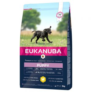Eukanuba Puppy Large Breed Chicken - 15 kg