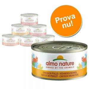 Provpack: Almo Nature 6 x 70 g - Tonfiskvarianter