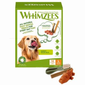 Whimzees Variety Value Box L 14-pack