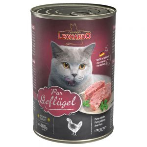 Leonardo All Meat 6 x 400 g - Pure Poultry