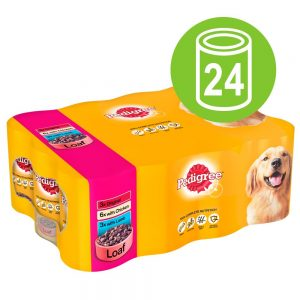 Pedigree Adult Selection Multipack 24 x 385 / 400 g - Meat Selection in Jelly - Kyckling, lamm, nötkött 24 x 385 g