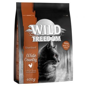 """Wild Freedom Adult """"""""Wide Country"""""""" Sterilised - Poultry - 400 g"""