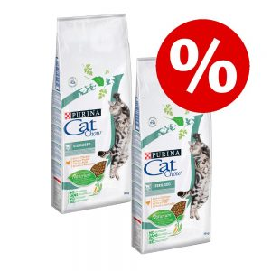 2 x 15 kg Cat Chow till kanonpris! - Adult Special Care Hairball Control