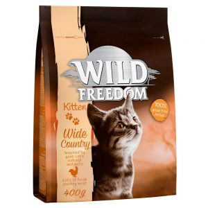 """Wild Freedom Kitten """"""""Wide Country"""""""" - Poultry - 400 g"""